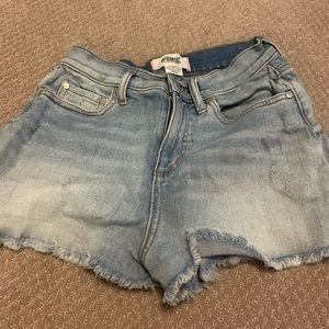VS Pink Jean Shorts sz 2